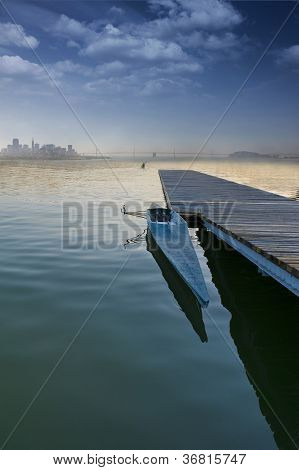 Boat On A Pier