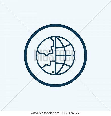 World Globe. Globe Icon. Globe Vector. Globe Icon Vector. Globe Logo. Globe Symbol. Globe With Signa