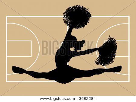 Basketball Cheerleader