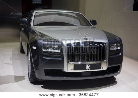 Rolls Royce 102Ex Electric Concept