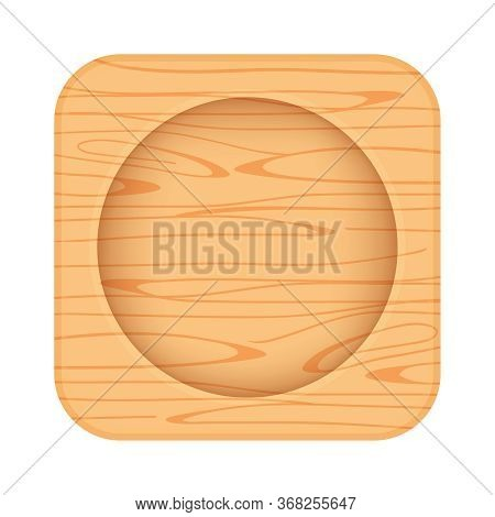 Wooden Coaster For Placing Water Glass, Wood Coaster For Tea Glass Shot