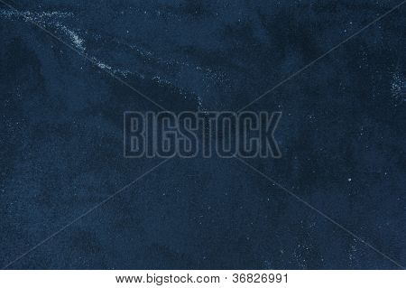Dark Blue Toned Marble Background