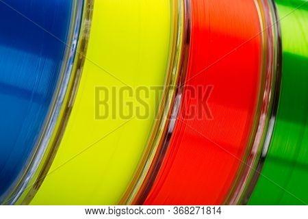 Colored monofilament line for fishing close