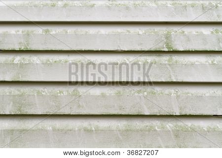 Dirty Vinyl Siding Needs Pressure Washing