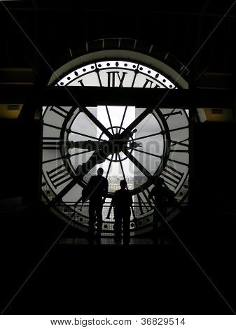 Time Travelers, or Prisoners of Time - Paris