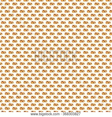 A Seamless Pattern. Confection Background. Wallpapper Backdrop