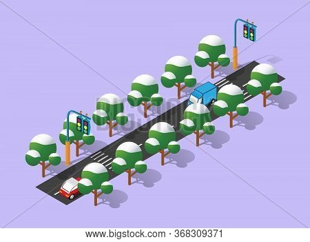 Perspective Isometric View Perspective Isometric View City