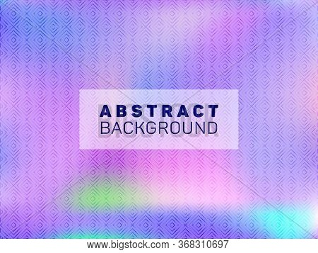Beautiful Presentation Holographic Gradient Vector Template. Abstract Graphic Design Elements. Lucid