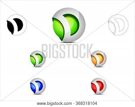 Alphabet D Logo Design Suitable For Any Company Or Business Named After Letter D
