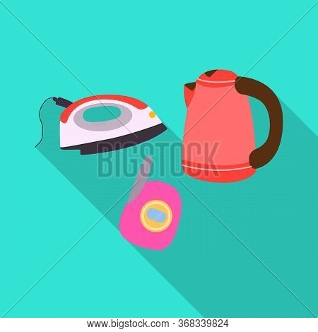 Isolated Object Of Trash And E-waste Logo. Graphic Of Trash And Recycle Stock Vector Illustration.