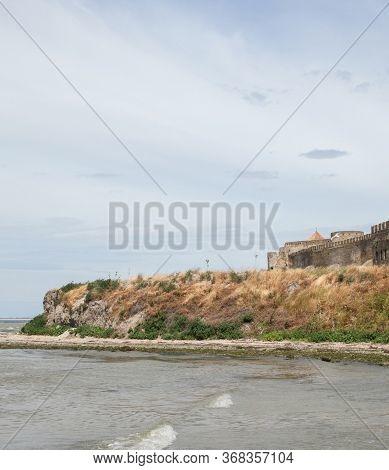 Akkerman (bilhorod-dnistrovskyi) Fortress In Ukraine. Medieval Castle At The Dniester Estuary.
