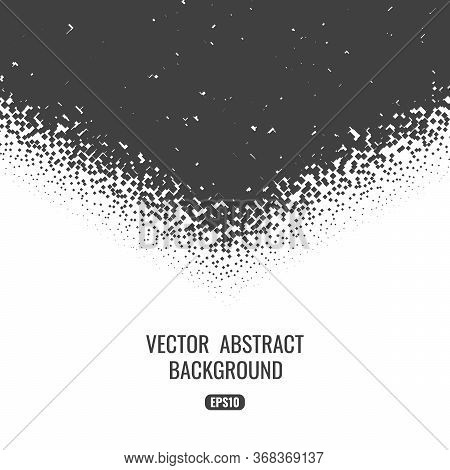 Abstract Background With A Monochromatic Geometric Texture. Space For Text.
