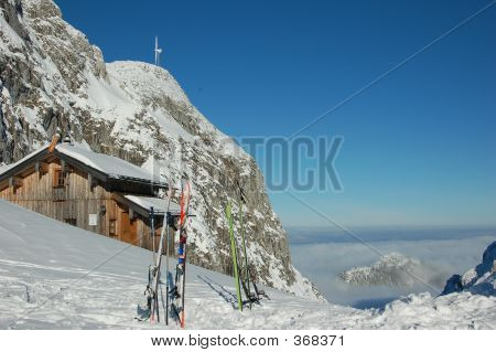 Mountain Ski Lodge