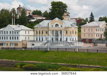 Country Town In Russia