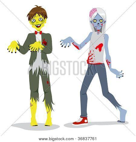 Zombie Teen Boys