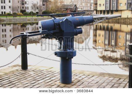 Harpoon Gun Used For Whaling