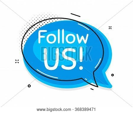 Follow Us Symbol. Thought Chat Bubble. Special Offer Sign. Super Offer. Speech Bubble With Lines. Fo