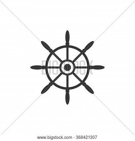 Helm Wheel Graphic Design Template Vector Isolated Illustration