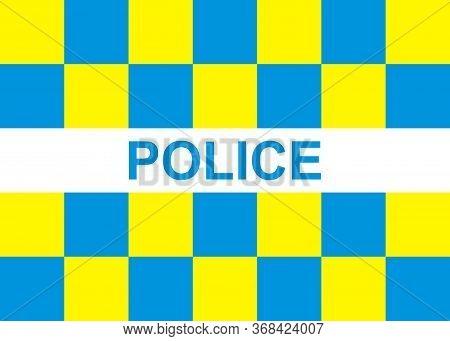 Battenburg Police Marking Template For Your Design