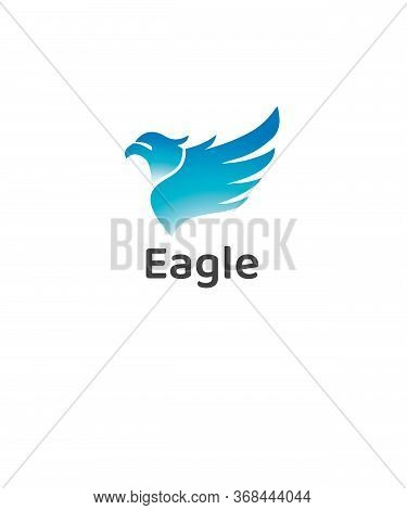 Eagle Logo Vector And Simple, Animal,  Phoenix, Power, Predator, Protection, Sign,