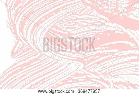 Grunge Texture. Distress Pink Rough Trace. Fair Background. Noise Dirty Grunge Texture. Superb Artis
