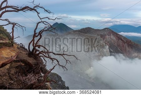 Mount Ijen - A Volcano With Natural Sulphur Gas