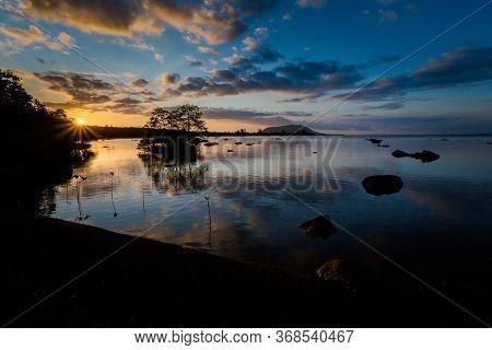 Sunset On Mot Island Phuquoc
