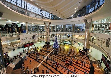 Johannesburg, South Africa - November 18, 2011: O.r. Tambo International Airport In Johannesburg Sou
