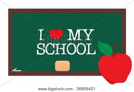 Caption on school board