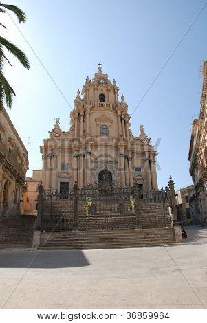 The baroque St. George church of Ragusa Ibla