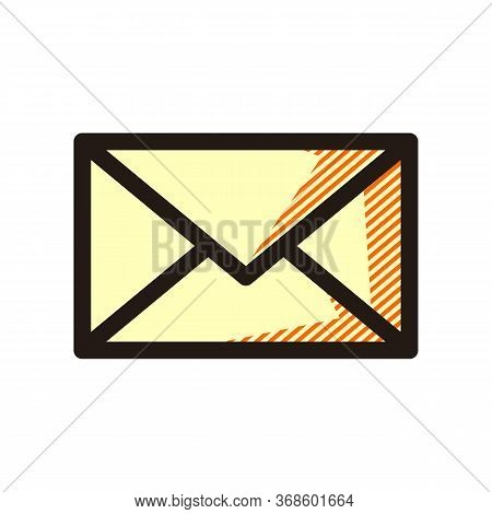 Email Icon Isolated On White Background From Miscellaneous Collection. Email Icon Trendy And Modern