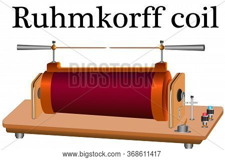 The Ruhmkorff Coil Is An Induction Coil That Provides High Voltage Pulses When A Low Dc Voltage Is C