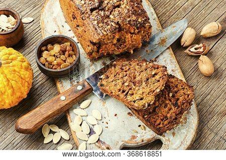 Pumpkin Bread Loaf