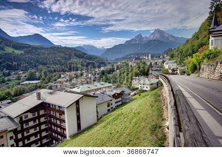 Berchtesgaden mountain resort