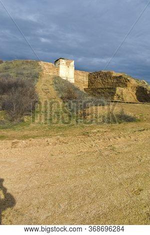 Archeological Area Of Maltepe At Village Of Manol , Bulgaria
