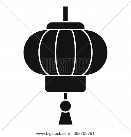 Chinese Lantern Icon. Simple Illustration Of Chinese Lantern Vector Icon For Web Design Isolated On