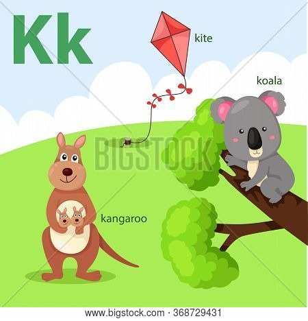 Illustrator Of A-z Set For K Islated