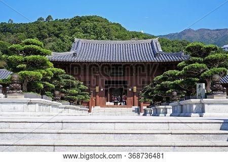 Nan Lian Garden,this Is A Government Public Park,kowloon,hong Kong