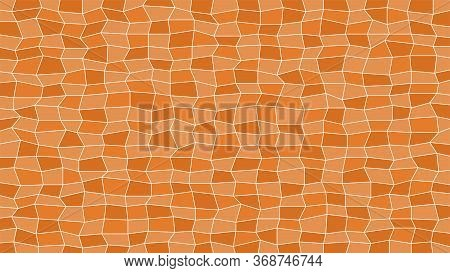 Abstract Tile Brown For Decoration And Background, Brown Texture For Decorative Wall, Modern Geometr