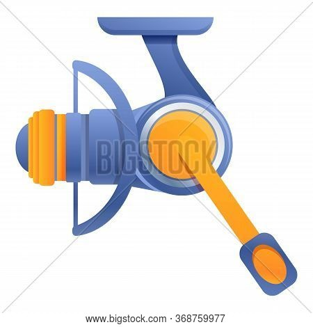 Recreation Fishing Reel Icon. Cartoon Of Recreation Fishing Reel Vector Icon For Web Design Isolated
