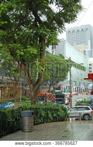 Orchard, Sg - Apr 6 - Orchard Road With Surrounding Malls On April 6, 2012 In Orchard, Singapore.