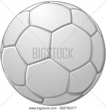 Vector Illustration Of A Europe Volley Ball