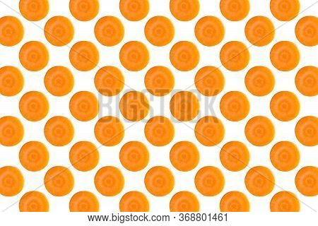 Pattern Of Fresh Ripe Fruit Isolated On Soft Pink Color Texture