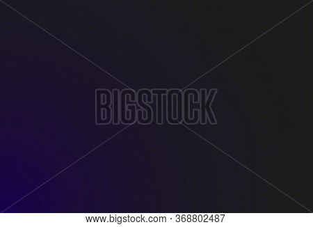 Hud Dark Purple Background With Thin Hexagon Grid And Dots. Design For Science Theme, Artifical Inte