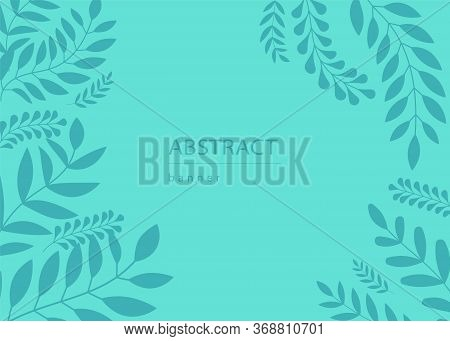 Abstract Background.Colorful Abstract Background. Abstract circle geometric pattern design and background. business abstract background - vector illustration. Garden plants , botanical , pattern vector design for fashion, fabric, wallpaper and all prints