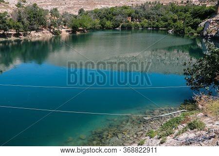 Beautiful Halfeti Lake In Gaziantep In Turkey