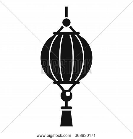 Party Chinese Lantern Icon. Simple Illustration Of Party Chinese Lantern Vector Icon For Web Design