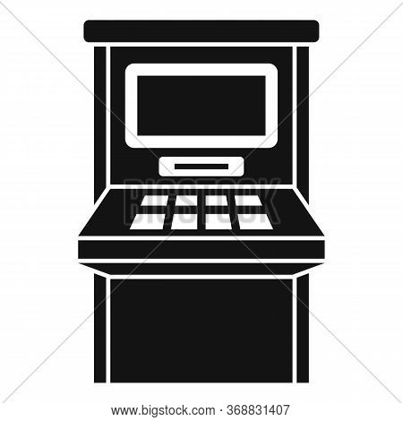 Atm Withdraw Icon. Simple Illustration Of Atm Withdraw Vector Icon For Web Design Isolated On White