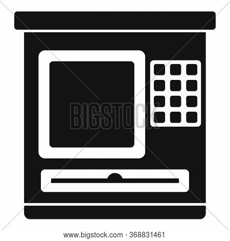 Atm Service Icon. Simple Illustration Of Atm Service Vector Icon For Web Design Isolated On White Ba