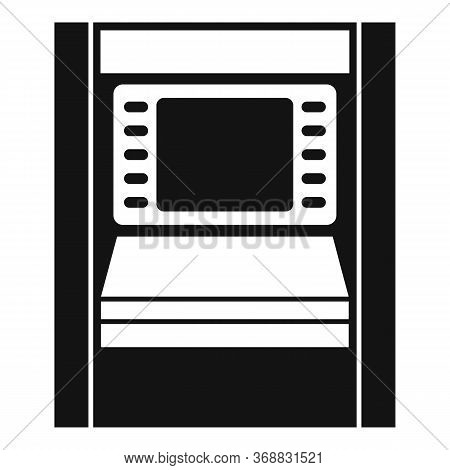 Atm Modern Chip Icon. Simple Illustration Of Atm Modern Chip Vector Icon For Web Design Isolated On
